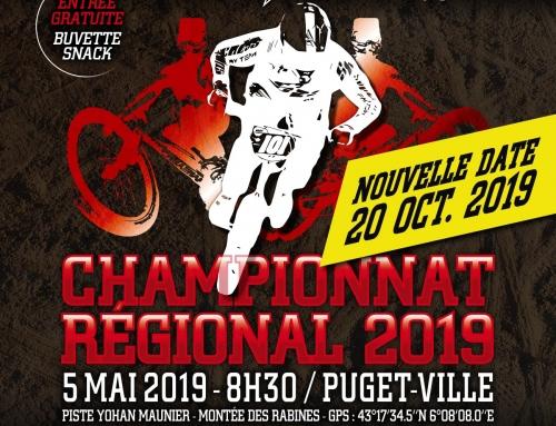 CHAMPIONNAT REGIONAL – DIMANCHE 20 OCTOBRE 2019