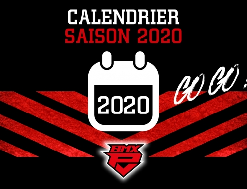 CALENDRIER SAISON 2020